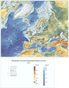 The physiography of Europe