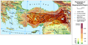 Physiography of the Anatolian biogeographical region