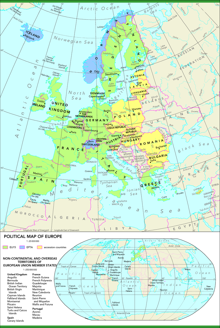 Picture of: Political Map Of Europe European Environment Agency