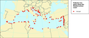 Pollution Hot Spots along the Mediterranean Coast