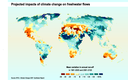 Projected impacts of climate change on freshwater flows