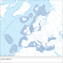 Regional seas surrounding Europe