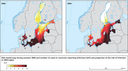 Current and projected risk of vibriosis infections in the Baltic Sea region