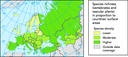 Species richness in Europe