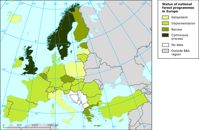 Status of national forest programmes in Europe — European ...