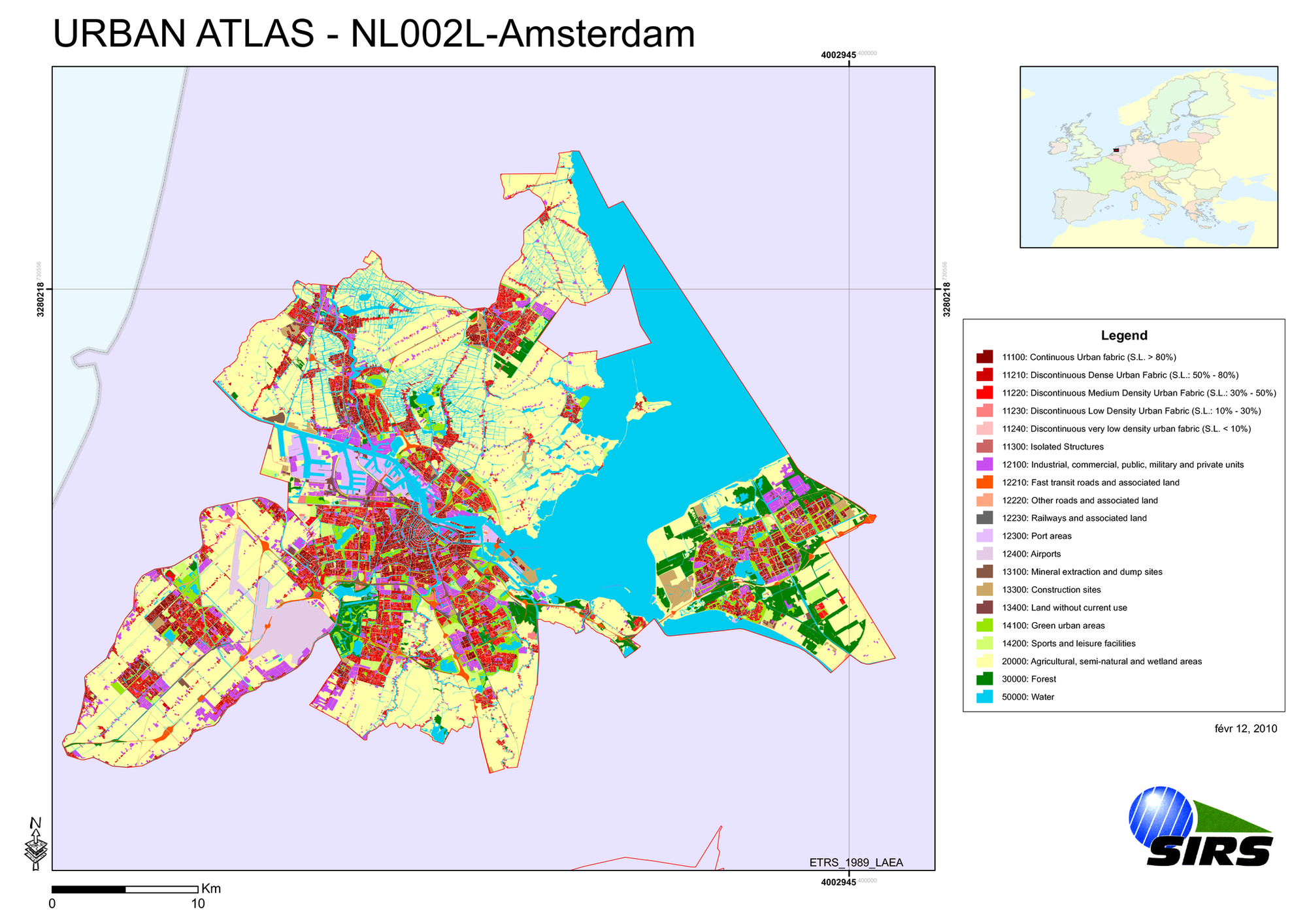 Urban Atlas — European Environment Agency
