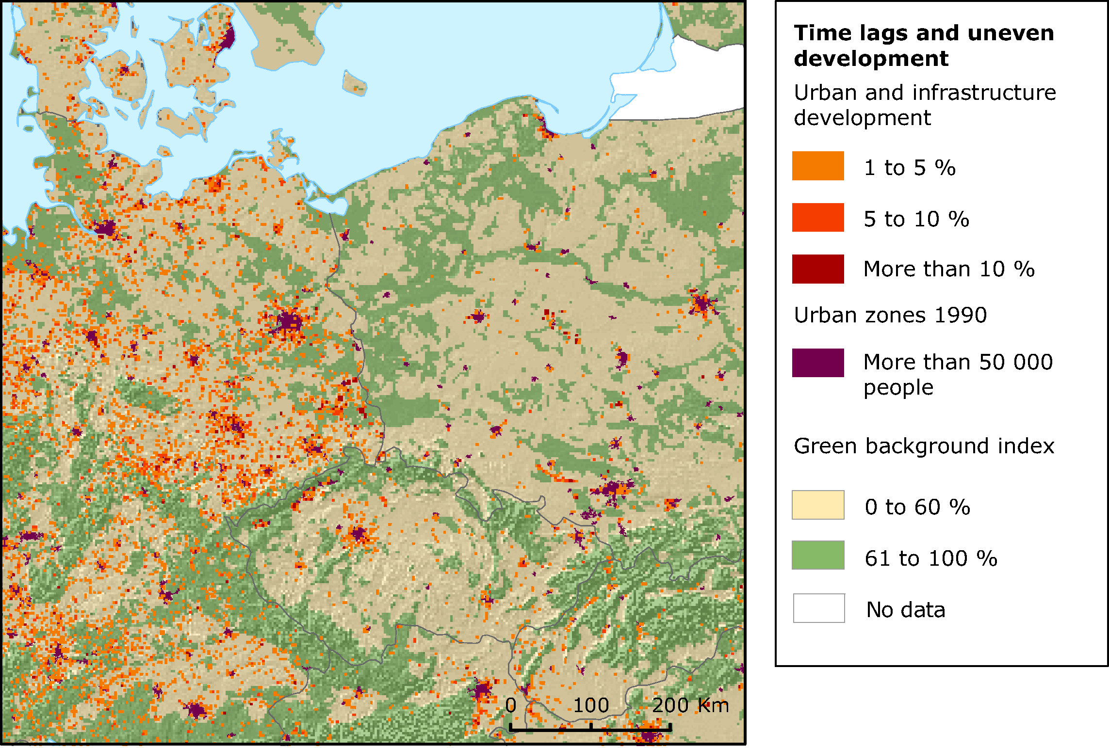 European Environment Agencys Home Page European Environment Agency - Germany map eps