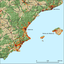 Urban sprawl on the Mediterranean coast: souheast Spain (1990-200)