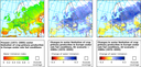 Water limitation of crop primary production in Europe under rain-fed conditions