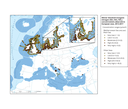 Winter dissolved inorganic nitrogen (NH4 + NO3 + NO2) concentration observed in European seas, 2013-2017