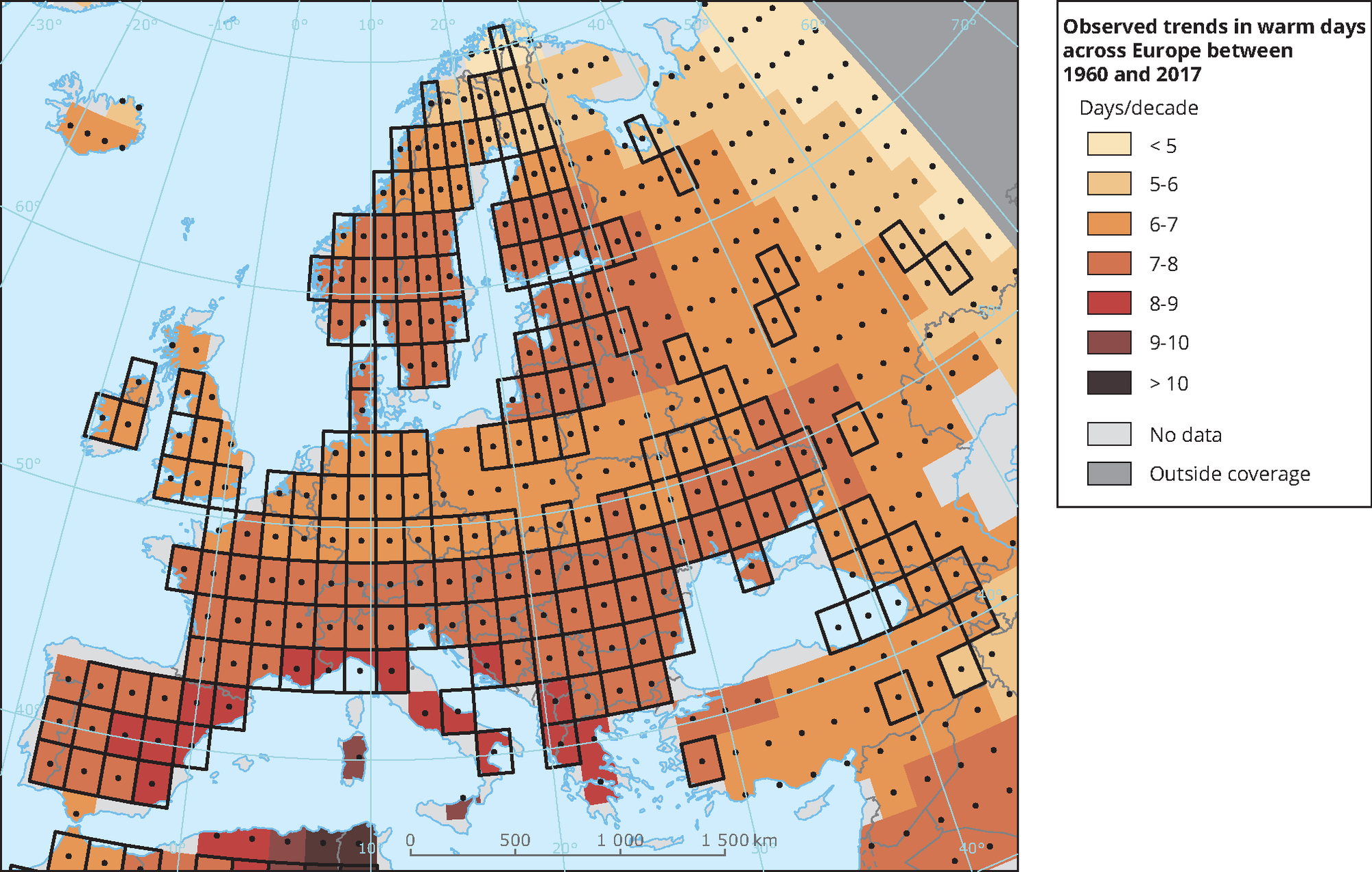 Global and European temperature — European Environment Agency