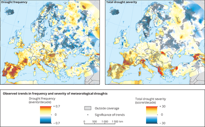 Meteorological and hydrological droughts