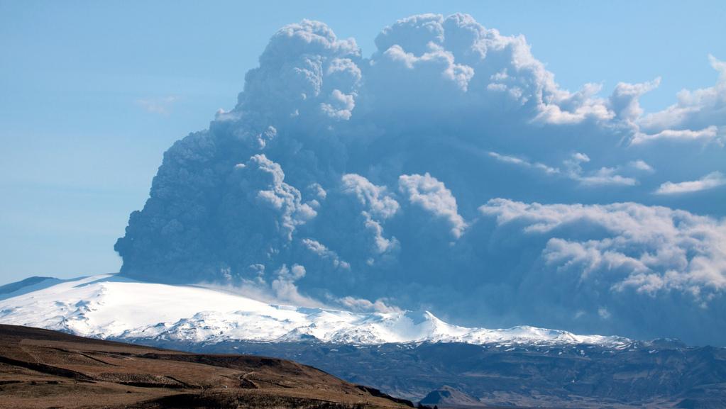 Eyjafjallajökull Vulkan, Island