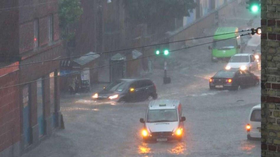 Überschwemmung in Kopenhagen, Juli 2011