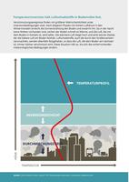 Temperaturinversion hält Luftschadstoffe in Bodennähe fest.