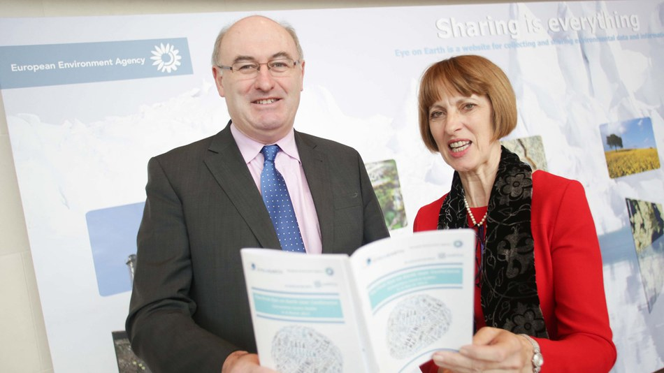 Jacqueline McGlade and Phil Hogan