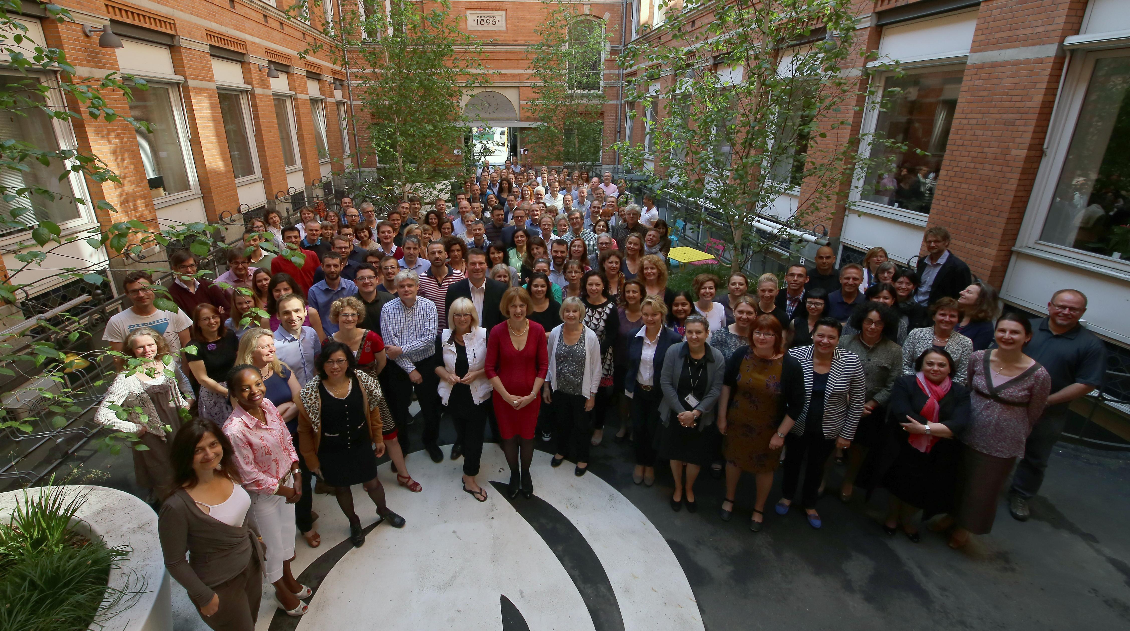 EEA staff - May 2013