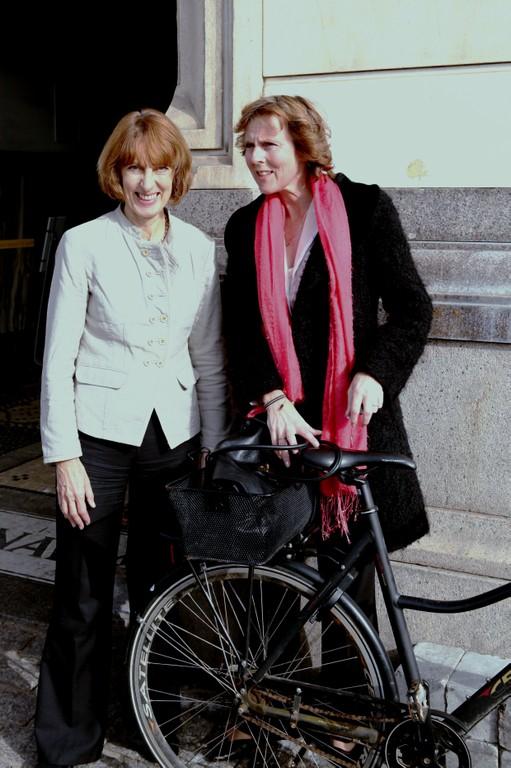Professor McGlade and Commissioner Hedegaard