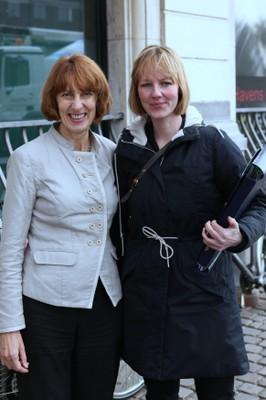 Professor McGlade and Danish Environment Minister Ida Auken