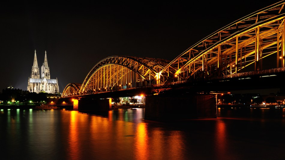 The Rhine in Cologne, Germany