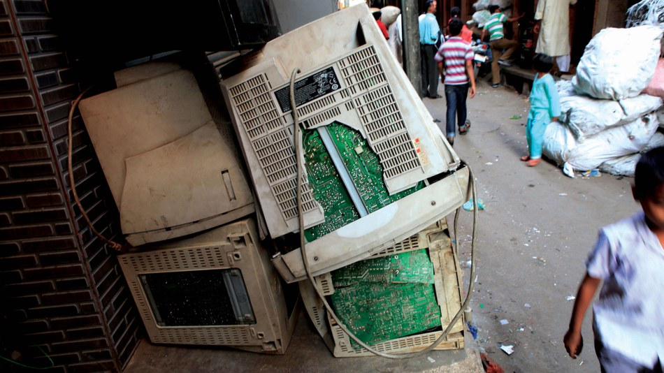 Electronic waste in India