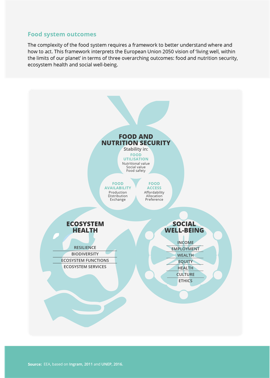 Food system outcomes