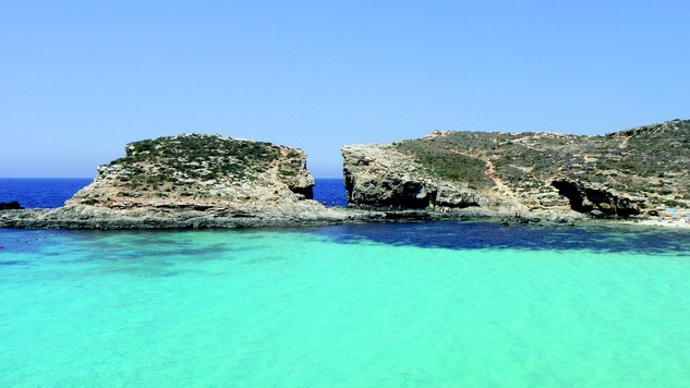 Malta her Europas bedste badevand