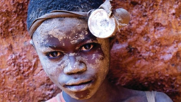 Chance, child miner in Congo