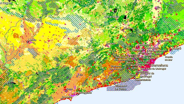 New eye on earth global mapping and information service now live combined geographical information layers gumiabroncs Choice Image