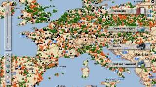 E-PRTR map search