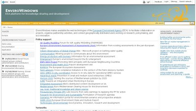 Knowledge sharing and development - EnviroWindows