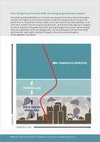 Door temperatuurinversie blijft vervuiling op grondniveau hangen