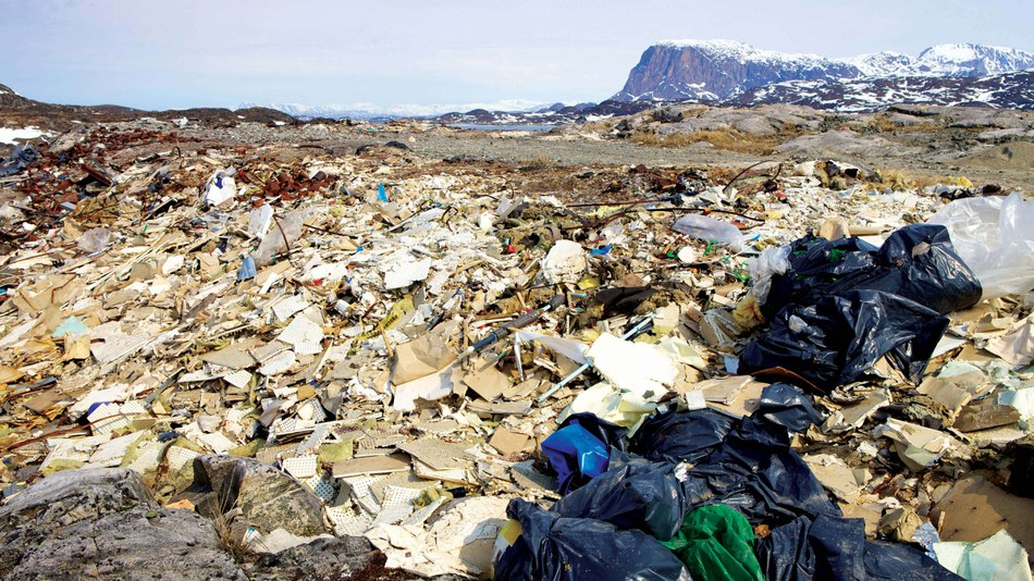 Waste in Greenland