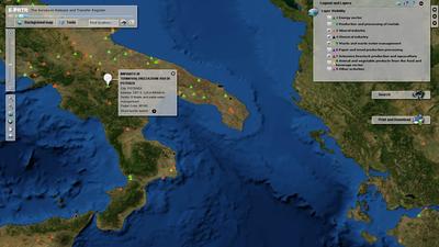 Interaktive kart og data