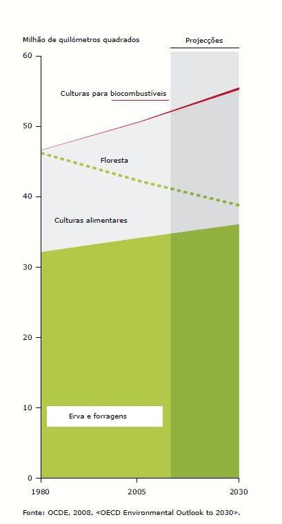 Alteração da superfície agrícola