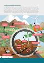 O solo desempenha um papel crucial nos ciclos da natureza, entre os quais o ciclo dos nutrientes, o qual está ligado à quantidade de matéria orgânica do solo (carbono, azoto e fósforo) absorvida e armazenada no solo. Os compostos orgânicos, como as folhas e as extremidades radiculares, são decompostos em substâncias mais simples por organismos que vivem no solo antes de poderem ser utilizados pelas plantas. Certas bactérias que vivem no solo transformam o azoto atmosférico em azoto mineral, essencial para o crescimento das plantas. Os fertilizantes introduzem azoto e fosfatos para estimular o crescimento vegetal, mas nem toda a quantidade é absorvida pelas plantas. O excesso pode entrar nos rios e lagos e afetar a vida destes ecossistemas aquáticos.