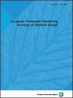 European Freshwater Monitoring, Summary of Network Design