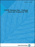 CORINE Biotopes Sites - Database Status and Perspectives 1995
