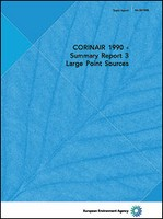 CORINAIR 1990 - Summary Report 3 - Large Point Sources