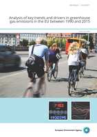 Analysis of key trends and drivers in greenhouse gas emissions in the EU between 1990 and 2015