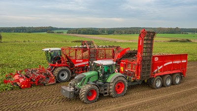 Grimme REXOR 930 and RUW 4000