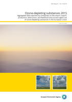 Ozone-depleting substances 2015 - Cover