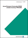 Annual European Community CLRTAP emission inventory 1990-2002
