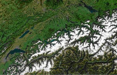 Topography of Switzerland