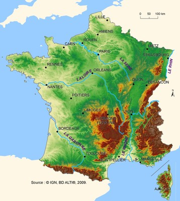 Country profile - Distinguishing factors (France) — European Environment Agency