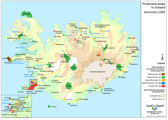 Figure 3 map of protected areas in iceland in 2009 european map of protected areas in iceland in 2009 european environment agency gumiabroncs Images