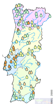 Fig. 1 - Surface water quality in 2008