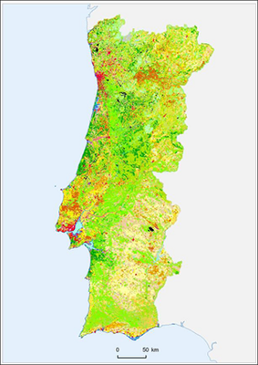 Fig. 1 - Land Cover, 2006