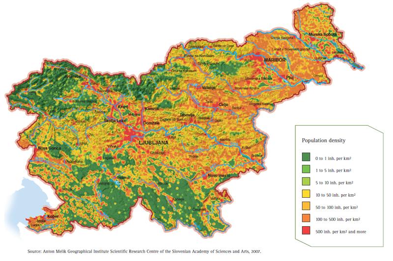 Figure 6: Population density