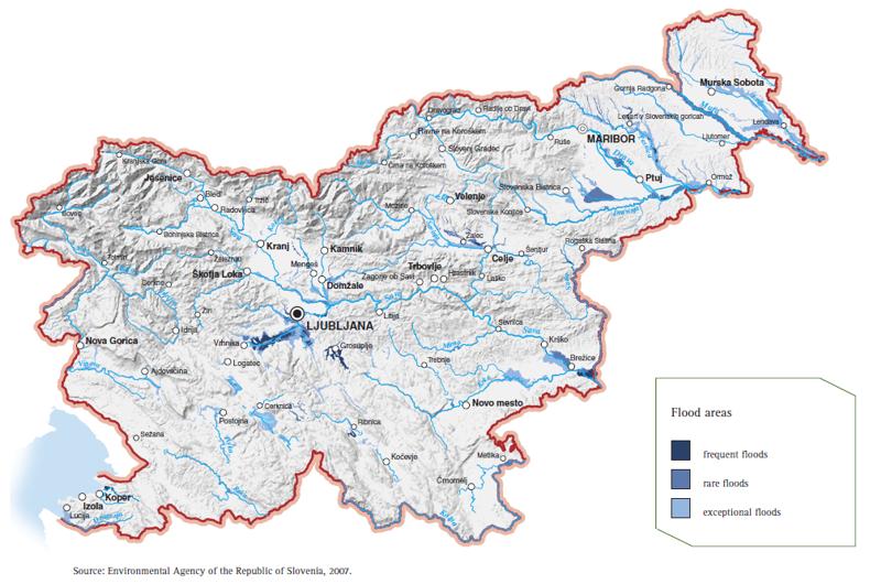 Figure 7: Flood areas